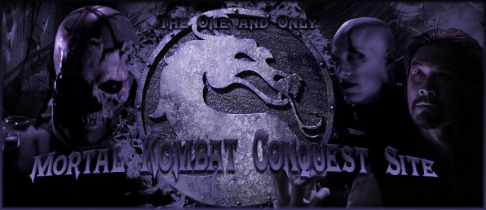 Mortal Kombat Conquest (TV Show) Site