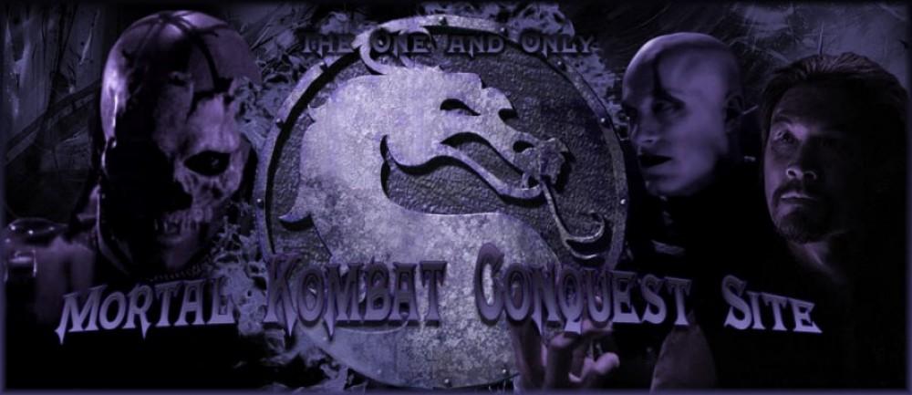 Mortal Kombat Conquest (TV Show) Site