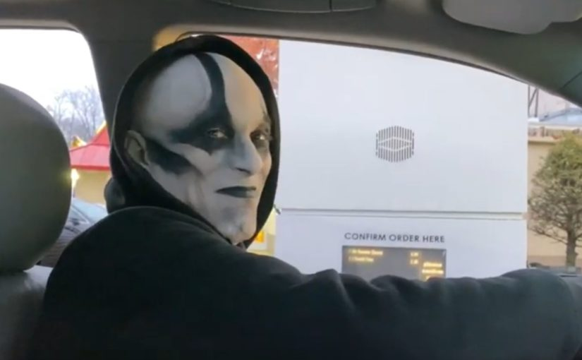 Quan Chi drives to McDonalds